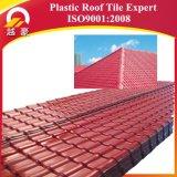 Tuiles de toit en plastique ondulées de type du Kerala de résine synthétique de certificat d'OIN