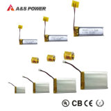 UL 481221 het Navulbare 3.7V Li-Polymeer Lipo van de Batterij van het Polymeer van het 70mAhLithium