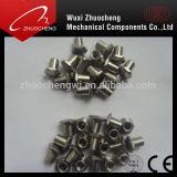 Acier inoxydable 304 316 rivets semi-tubulaires à tête bombée avec la conformité d'OIN