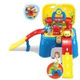 Schemel-Spiel-gesetztes Spielzeug für Realklage Einstellen-Gas Station