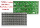Pixeles de interior rojos 64X32 del módulo 304X152m m de la visualización de LED de F3.75 P4.75 con Hub08