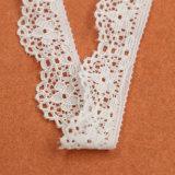 Ultimo bello tessuto africano blu lavorato a maglia speciale del merletto elastico