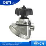 Válvula de dreno pneumática da válvula de diafragma da parte inferior do tanque do aço inoxidável
