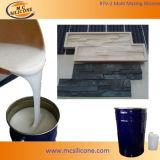 Muffa di pietra concreta che prepara RTV-2 silicone (RTV2030)