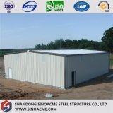 Fabrication préfabriquée d'entrepôt de bâti en métal