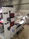 기계를 인쇄하는 2개의 색깔 스티커 Flexo
