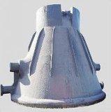 Bac en acier de fonte de moulage Eb4096 de scories de poche