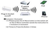 Z-Wave Wireless Smart Home Automation Solution du système de prise de l'interrupteur