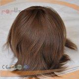 El cabello virgen europea pleno encaje peluca (PPG-L-01404)