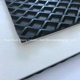 Cinta transportadora plana del PVC de la alta calidad para el transporte