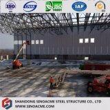 Estructura de acero prefabricados rentable Almacén de paneles sándwich