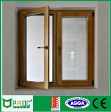 Portelli di alluminio della stoffa per tendine del grano di legno con i certificati As2047