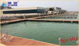 Venta caliente y el perfil buen precio sin necesidad de mantenimiento de aluminio Muelle Flotante