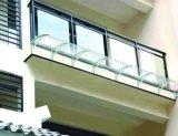 Barras de janela de toldo de alumínio montadas em estilo europeu DIY