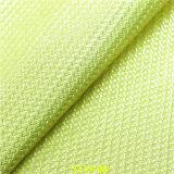 編まれた穀物の総合的な履物のアクセサリPU材料の革
