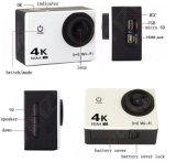 FHD WiFi 4k mette in mostra DV H2r con il H. 264