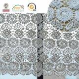 Fusione Polyster del tessuto del merletto del ricamo della maglia con l'alta qualità 2017 E20036