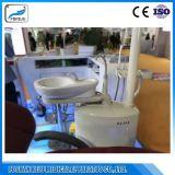 Le bac vers le bas en cuir de luxe fauteuil dentaire avec Approbation CE