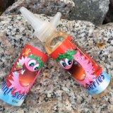 60ml liquido di plastica della bottiglia E con i servizi di disegno liberi di marchio