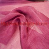 stof 30%Silk 70%Linen voor het Volledige Gordijn van de Kleding