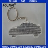 Reflektierender harter Schlüsselring mit Kugel-Kette oder Reißverschluss (JG-T-32)