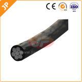 Cabo aéreo isolado PVC de alumínio do ABC do condutor da baixa tensão