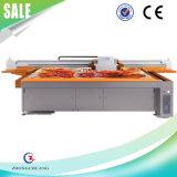 Stampante a base piatta UV della stampatrice per il pavimento \ 3D di vetro \ di legno \ portello