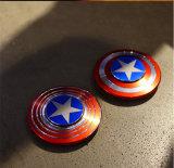 Капитан Америки правой рукой металлические новый уровень Fidget вращателя