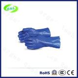 Зеленые промышленные химически упорные резиновый перчатки