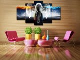 HD는 Angeles 소녀 Anime 악마 색칠 화포 인쇄 룸 장식 인쇄 포스터 그림 화포 벽 예술 Mc 001를 인쇄했다