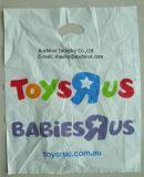 プラスチックによって型抜きされる買物袋のドア・ノブ型抜きされた袋パッチのハンドル袋多型抜きされた袋のブティック袋の多ハンドル袋のショッピング・バッグの衣装袋の買物袋
