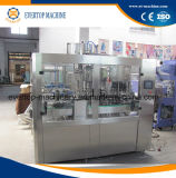 máquina de enchimento da bebida 3in1 para o frasco de vidro