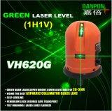 Niveau Twee van de Laser van Danpon Groen Stralen die Lijnen kruisen