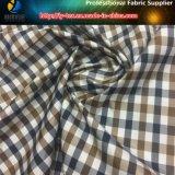 Ткань пряжи полиэфира покрашенная, популярная ткань куртки полиэфира вниз (YD1172)
