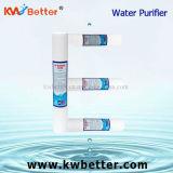 Cartucho del purificador del agua de los PP con el cartucho de filtro hecho girar de agua