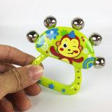 Kind-pädagogisches Orff-InstrumenteHand-Bellbaby-Plastikspielzeug