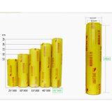 음식 패킹 PVC 투명한 필름은 또는 엄청나게 큰 롤 필름 음식 PVC 달라붙는다