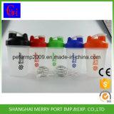 Preiswerte Plastikcup, die kundenspezifisches Protein-Schüttel-Apparatcup mit Stainess Stahlkugel messen