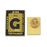 Distintivo su ordinazione di Pin di pubblicità di attività stampata