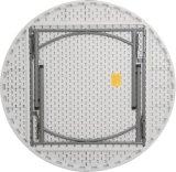 Оптовая торговля 5 футов 152см пластиковые складные совещания за круглым столом, портативный, Кемпинг таблица для использования вне помещений