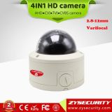 HD CCTV Ahd Tvi Cvi Analog 4NO1 1080P Câmara dome, impermeáveis Vandalproof 2.8-12mm HD Lente de câmera de vigilância