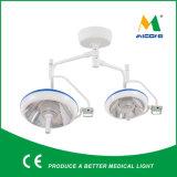 Luz quirúrgica Shadowless dirigida doble del techo LED de Micare E500/700