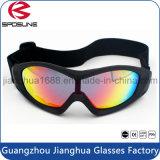 Óculos de proteção pretos personalizados venda por atacado da proteção de olho da equitação de cavalo dos óculos de proteção da estaca da cebola da segurança da fábrica