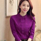 사업 기본 형식적인 디자인 여자의 면의 셔츠