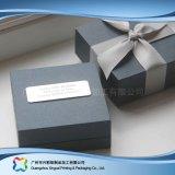 Contenitore cosmetico impaccante di carta rigido di lusso di monili dell'alimento del regalo (XC-hbg-022)