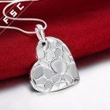 方法宝石類の銀によってめっきされる中心の形の低下のネックレス