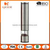 Amoladora automática aplicada con brocha de la sal y de pimienta del acero inoxidable