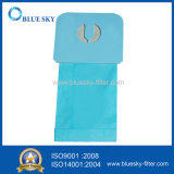 Sacchetto filtro blu della polvere per l'aspirapolvere