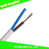 Câble de fil électrique flexible isolé par PVC de faisceau de cuivre jumeau de Rvvb2*2.5mm 300/500V
