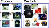 Papier de transfert thermique foncé de vente chaud d'Eco-Dissolvant pour le textile